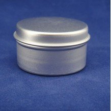 15g aluminum cosmetic jar 40*22mm(FAJ4022)