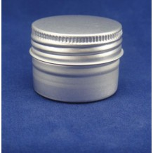 20g aluminum cosmetic container 40*28mm with screwing cap(FAJ4028)
