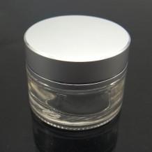 Glass cream Jars with Lids