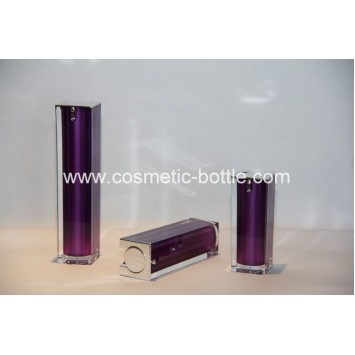 50ml airless bottle in square shape(FA-03-B50)