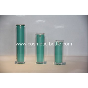 30ml airless bottle in square shape(FA-03-B30)