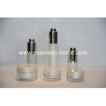 Round Rotary acrylic bottles and jars(FA-07)
