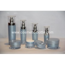 Conical acrylic bottles and jars(FA-09)