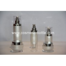 bottles and jars for cosmetics in oval shape(FA-10)