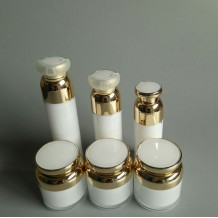 30ml 40ml 50ml airless bottle and 30ml 50ml acrylic cream jar
