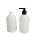 300ml HDPE plastic lotion shampoo bottle new item (FPE300-B)