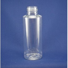 4oz plastic skin care bottles in cylinder(FPET120-B)