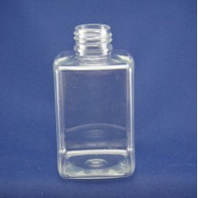5 oz plastic shampoo bottle square(FPET150-C)