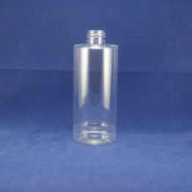 300ml cylinder PET bottles for cosmetic(FPET300-F)