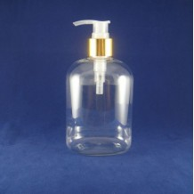 400ml plastic shampoo bottle(FPET400-D)