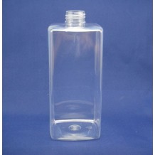 460ml square PET bottles for cosmetic(FPET460-A)