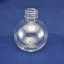 2oz plastic shampoo bottle ball shape(FPET60-E)